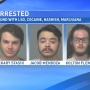 3 men arrested after Randall County deputies find LSD, cocaine, other drugs in apartment