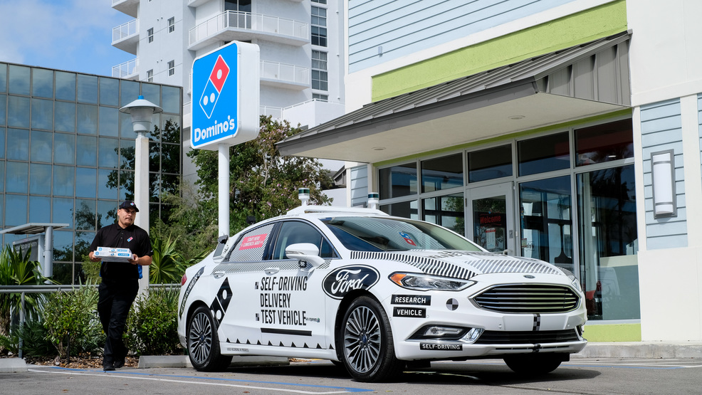 Ford and miami to form test bed for self driving cars kutv for Motor vehicle driver test