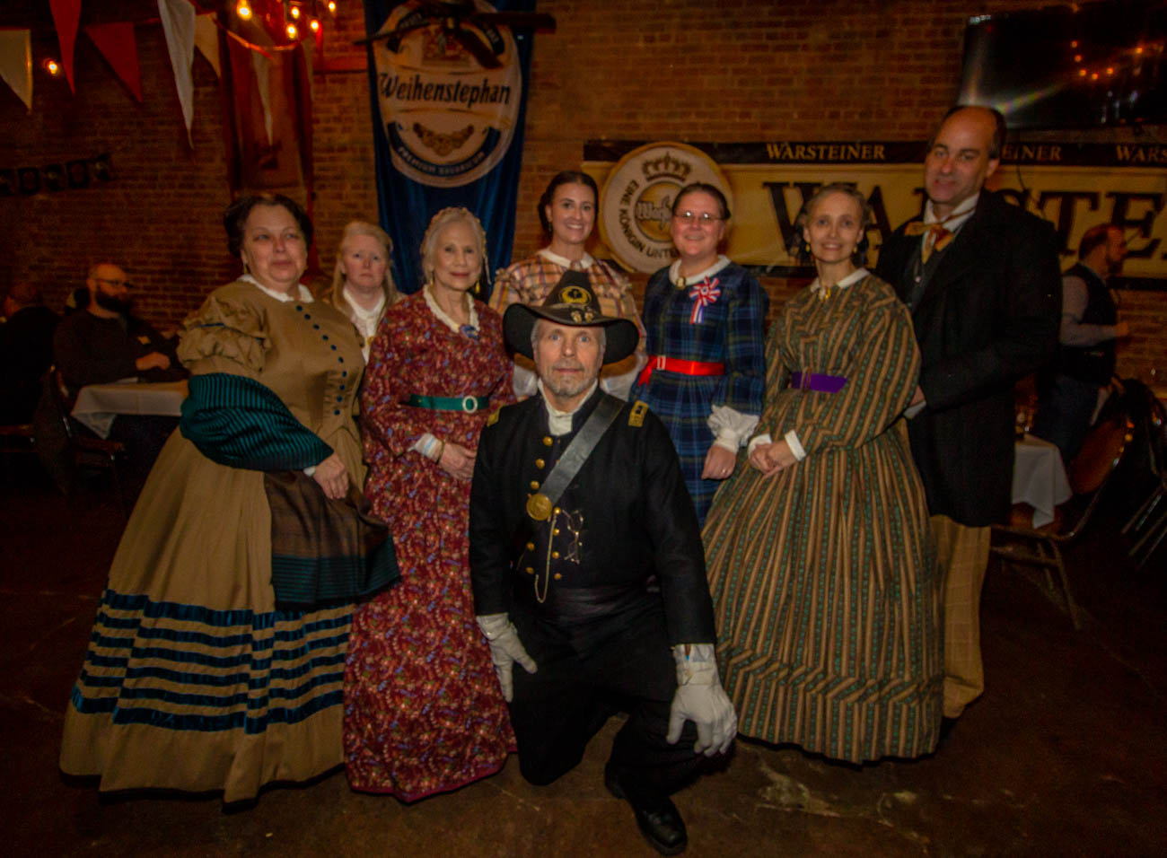 "The group formed in March of 2019 when Andrew M. Houghtaling, the group's director, gave a speech at Bockfest called, ""Beer, the Noble Gift: Beer and the Ninth Ohio during the Civil War."" They provide living history demonstrations, conduct research, and give talks at local schools and organizations. With a steady following, they encourage men and women of all ages to join. / Image: Katie Robinson, Cincinnati Refined // Published: 1.18.20"