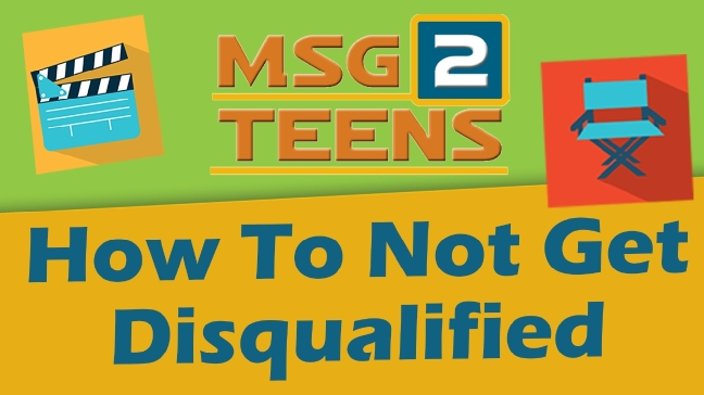 How To Not Get Disqualified