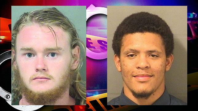 Darin Byrd and Jullian Cathirell are accused of killing twin brothers Brian and Brandon Allen and burning their bodies in a field in Palm Beach Gardens.