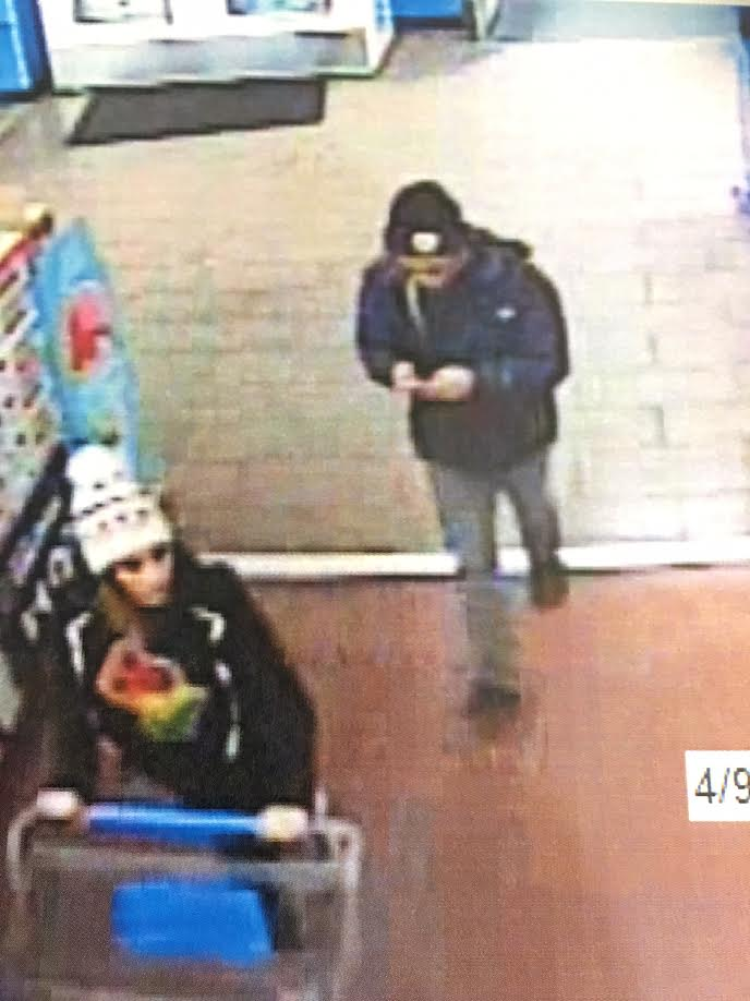 Man & woman sought in connection with string of car burglaries in Reno (Photo courtesy Reno Police Department)