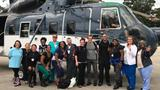 Tennessee critical care nurses board helicopters to Texas hospitals