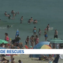 Riptide Rescues: Lifeguards ask swimmers to be cautious in water
