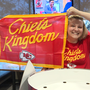 Kansas City Chiefs visit Omaha, sell flags to raise money for Boys and Girls Club
