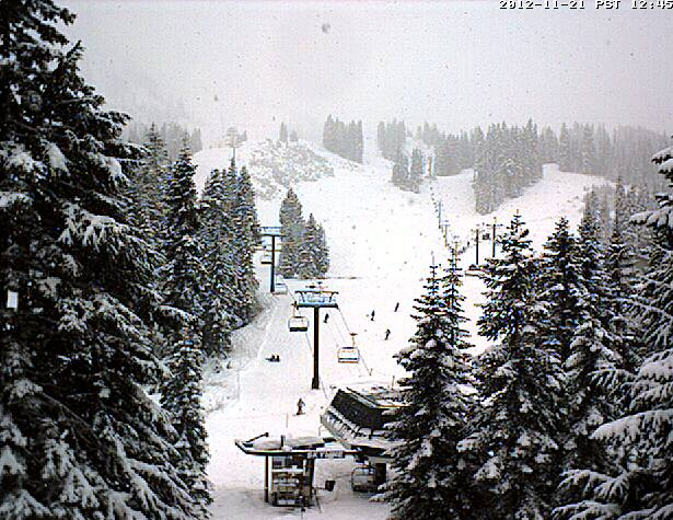 3 -- Number of Cascade Mountain ski resorts opening this week: Stevens Pass opened Tuesday, Mt. Baker and Crystal Mountain on Wednesday.  (Photo courtesy: Stevens Pass Ski Resort)