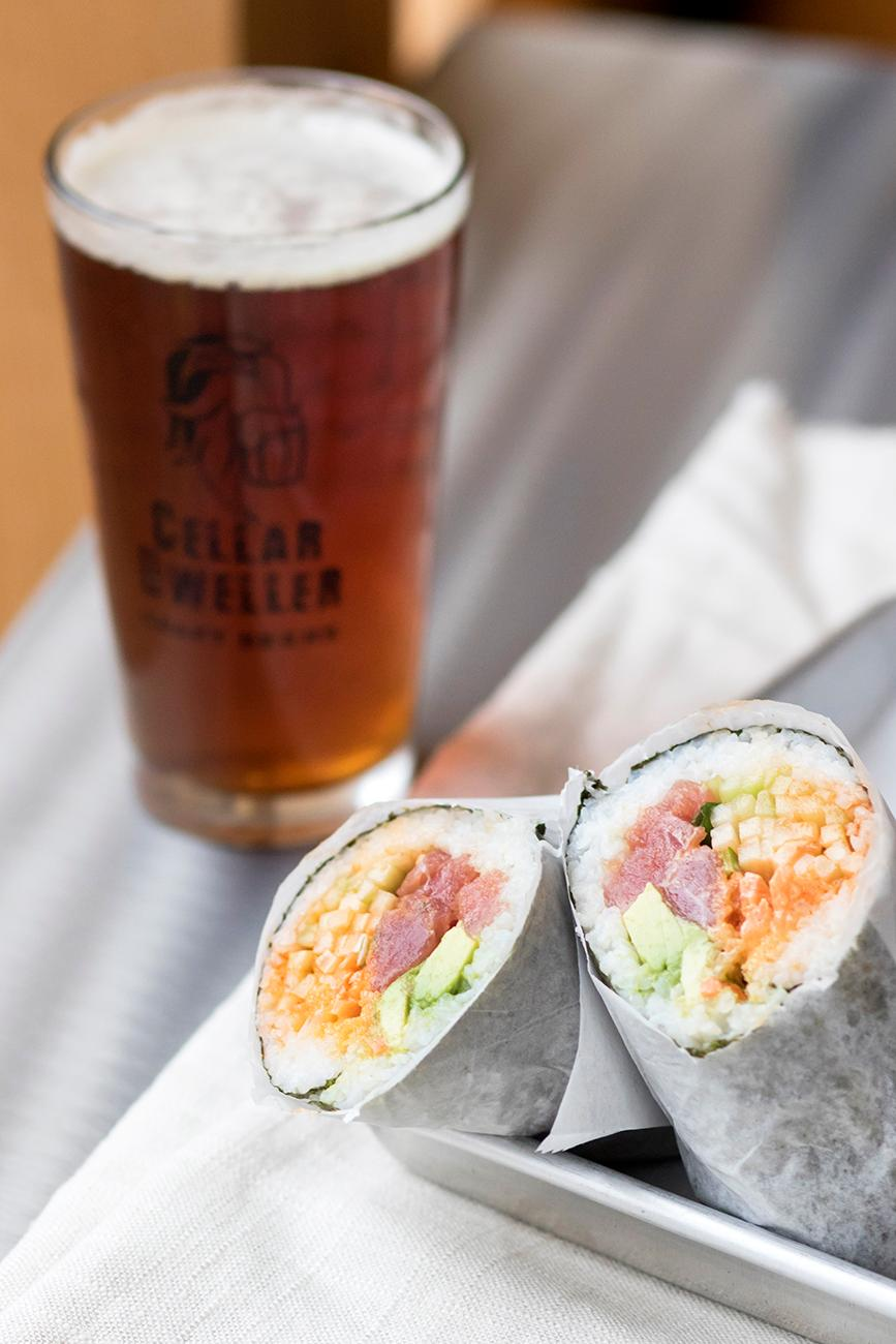 Tuna Roll with custom ingredients / Image: Allison McAdams // Published: 2.11.18<p></p>
