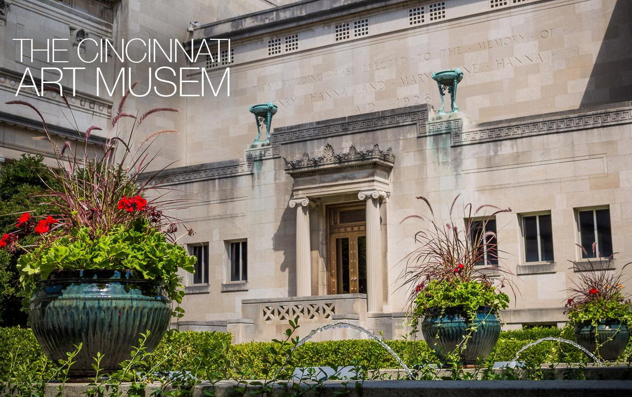 PLACE: Cincinnati Art Museum / DESCRIPTION: a museum of fine art from artists of all nationalities, eras, and styles / ADDRESS: 953 Eden Park Dr (45202) / ADMISSION: FREE for general admission, $10 adult special exhibit, $5 senior and special exhibit, $5 student, FREE for children under 5 years old{ } / Image: Phil Armstrong // Published: 11.29.17