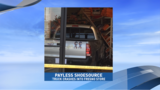 Truck drives into Fresno Payless store