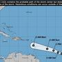 Hurricane Beryl track and outlook; expected to dissipate before reaching Gulf