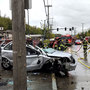 Man, woman injured in serious crash along MLK Jr. Way