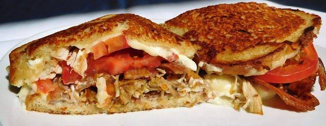 Turkey, Kurobuta Ham and Bacon Melt.   John Howie Steak, located in downtown Bellevue, brings major sandwich game. Every day the steakhouse features a unique and new sandwich called they call #SandwichOfTheDay. Enjoy the gallery! These are just a few of the daily sandwiches that look absolutely mind-blowing. To see the current Sandwich of the Day, check out John Howie Steak's Facebook page. (Image courtesy of John Howie Steak)