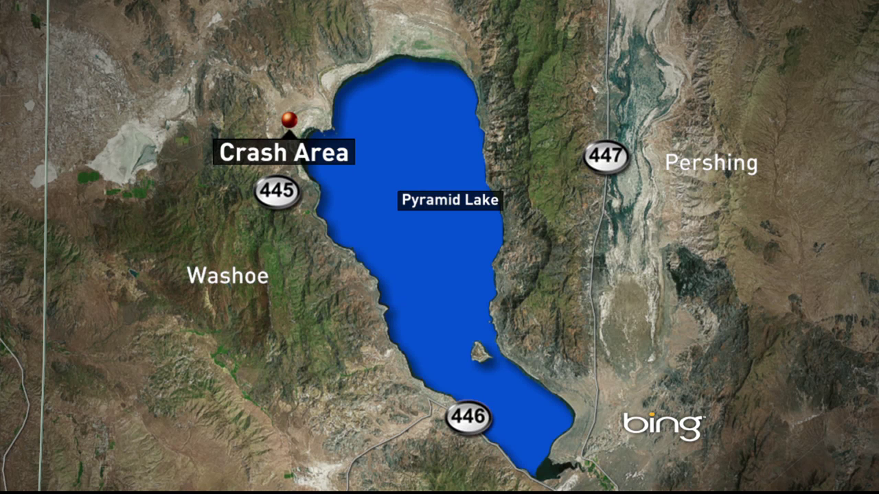 Emergency Officials Respond To West Side Of Pyramid Lake