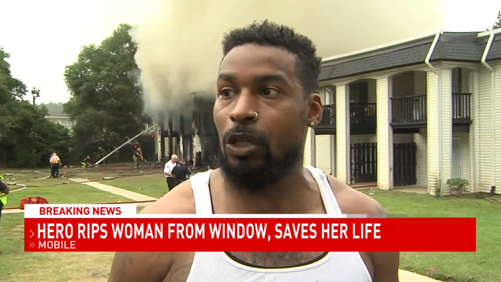 (WPMI FILE) Hero who rescued woman from Mobile apartment fire to be recognized by city