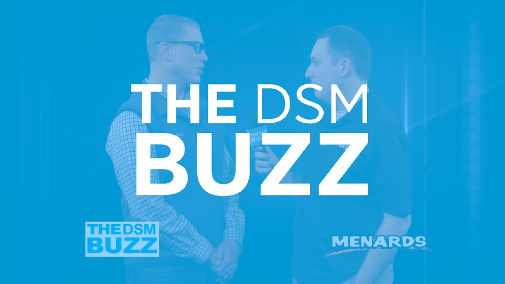 Menards' Closet Tips on the DSM Buzz!