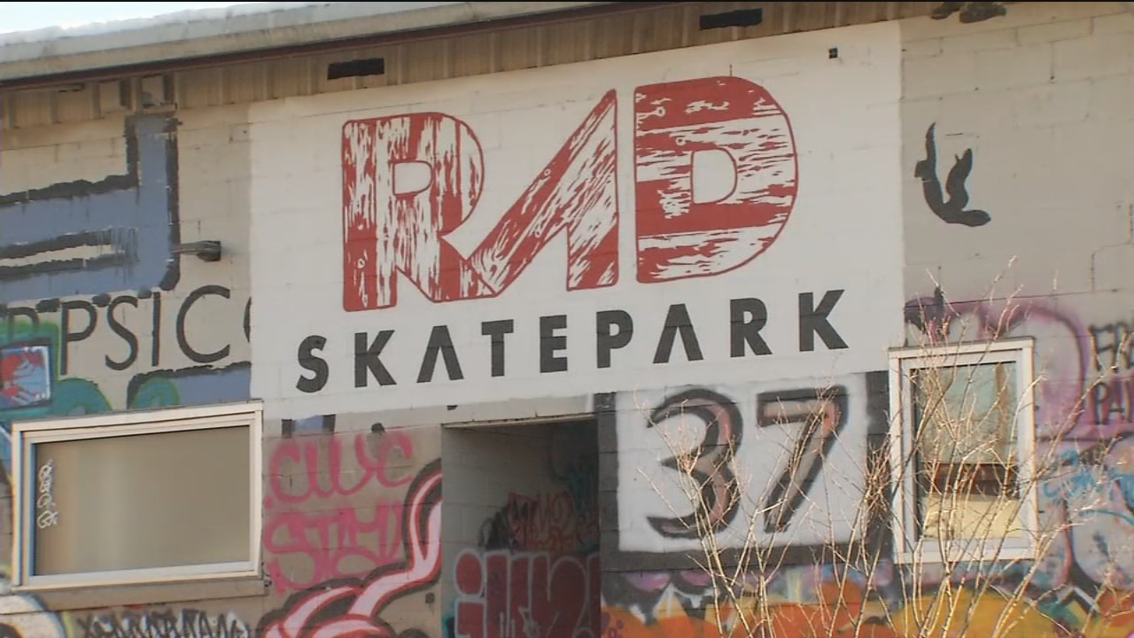 The Asheville Police Department is investigating after a report of shots fired at a concert on Saturday at the RAD Skate Park and the discovery of an Asheville man's body the following day. (Photo credit: WLOS Staff)