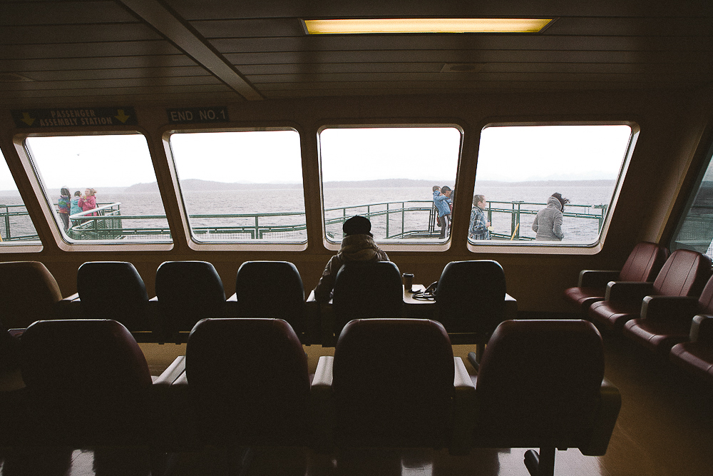 Bainbridge Island is a 35 minute ferry ride from the Seattle Waterfront in Downtown Seattle. Bainbridge Island is the perfect day trip and includes great views of Seattle, food and more. (Joshua Lewis / Seattle Refined)