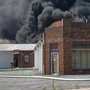 Major fire at a building in Mt. Airy on Thursday afternoon