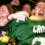 Packers fans celebrate victory over Dallas