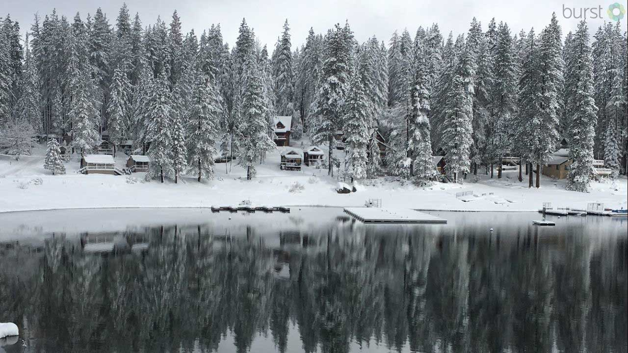Beautiful Shaver Lake by Troy Jennings 1-21-17