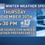 KRCG 13 Winter Weather Special