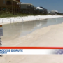 Duo tests limits of beach access in Walton County