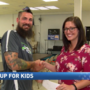 With the help of one barefoot runner, Lace Up for Kids raises over $2,500