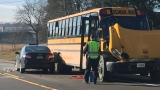 School bus collides with semi causing multiple crashes, injuries