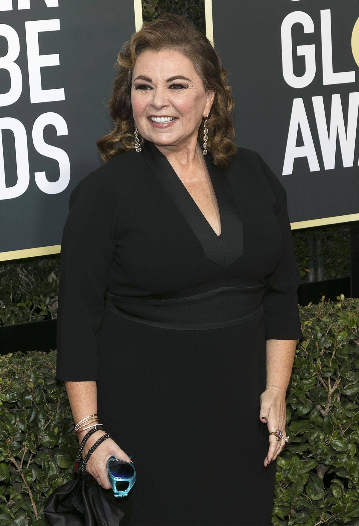 75th Golden Globe Awards held at the Beverly Hilton Hotel - Arrivals                                    Featuring: Roseanne Barr                  Where: Los Angeles, California, United States                  When: 07 Jan 2018                  Credit: WENN.com                                    **Not available for publication in Germany**