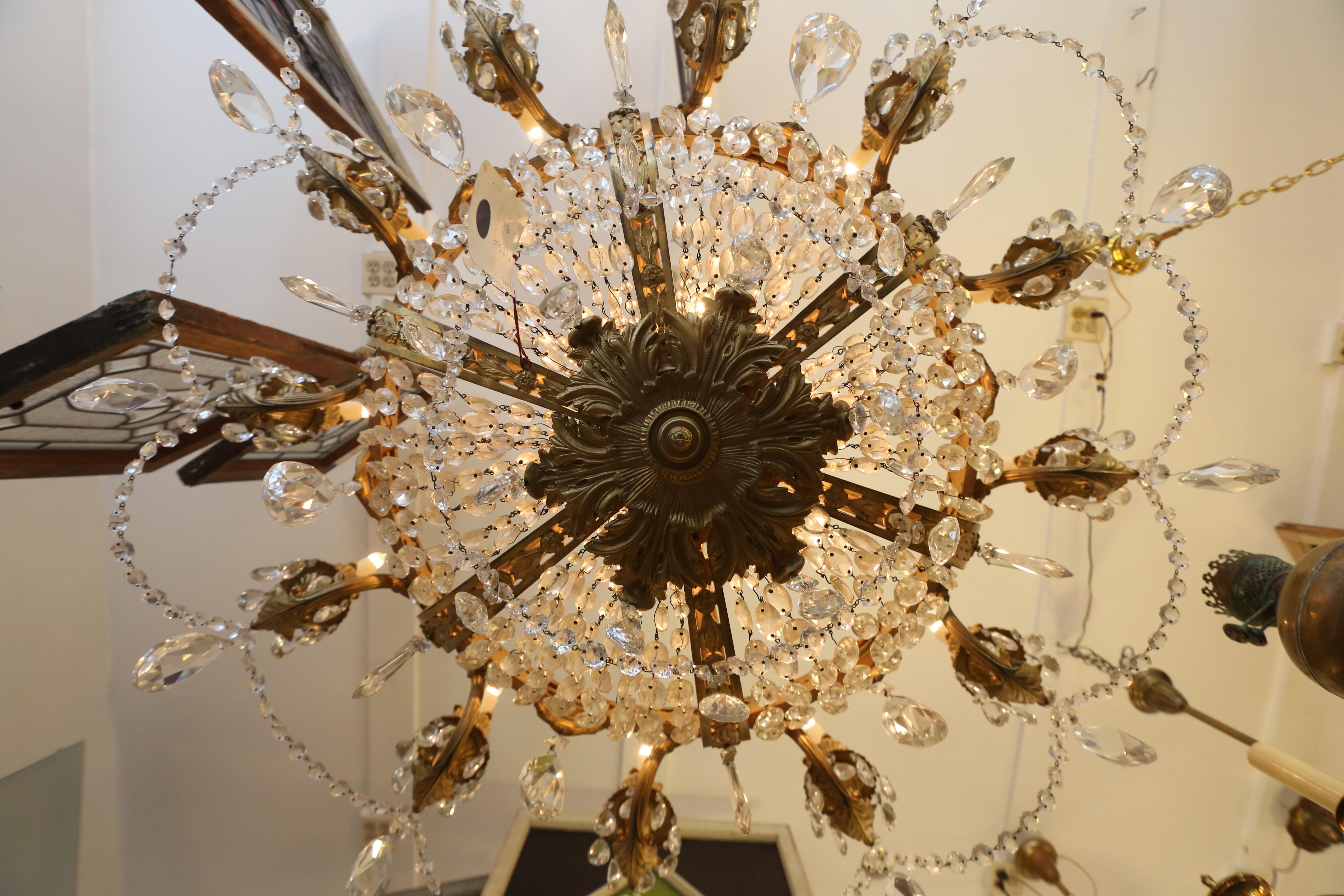 1915 chandelier - $17,500, available at The Brass Knob. (Amanda Andrade-Rhoades/DC Refined)