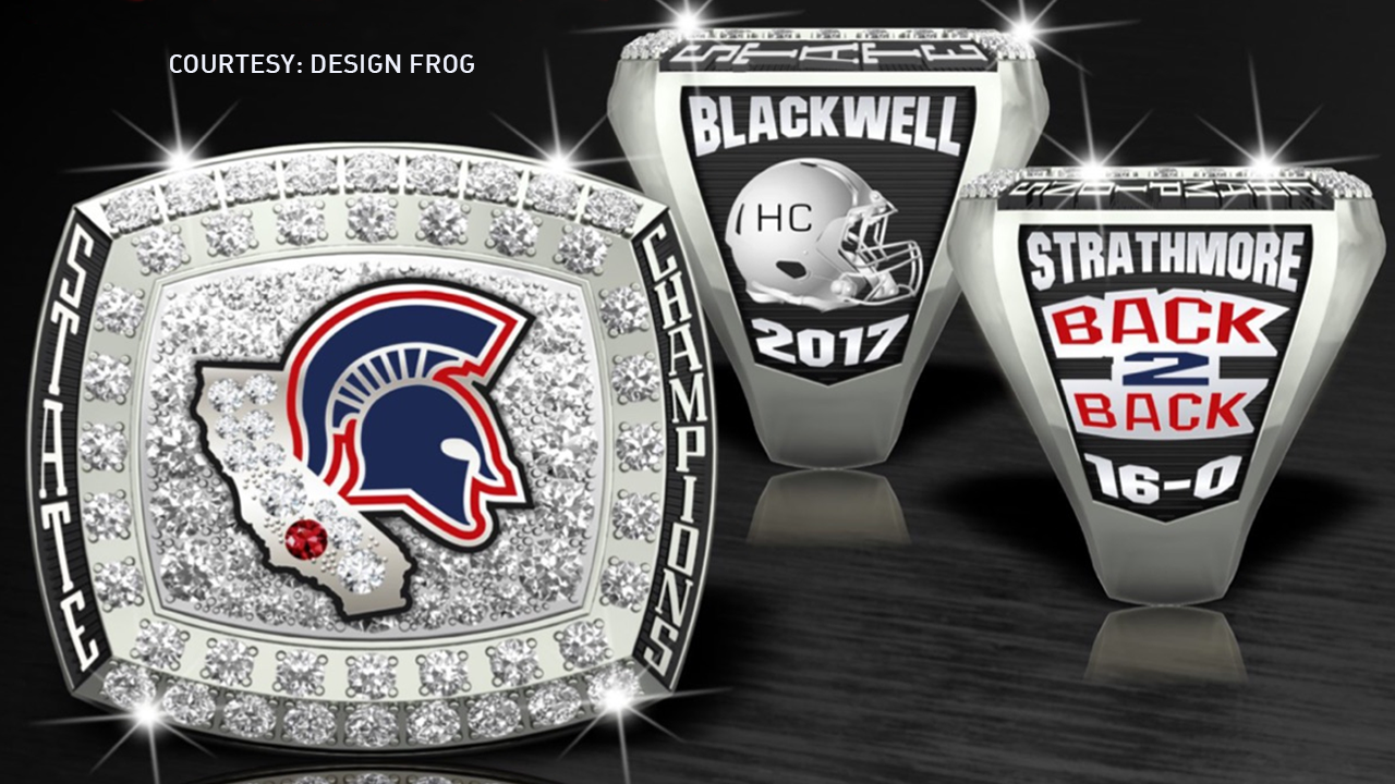 The Strathmore football team is raising money to help pay for these rings for everyone involved with the 2017 6-AA State Championship.<p></p>
