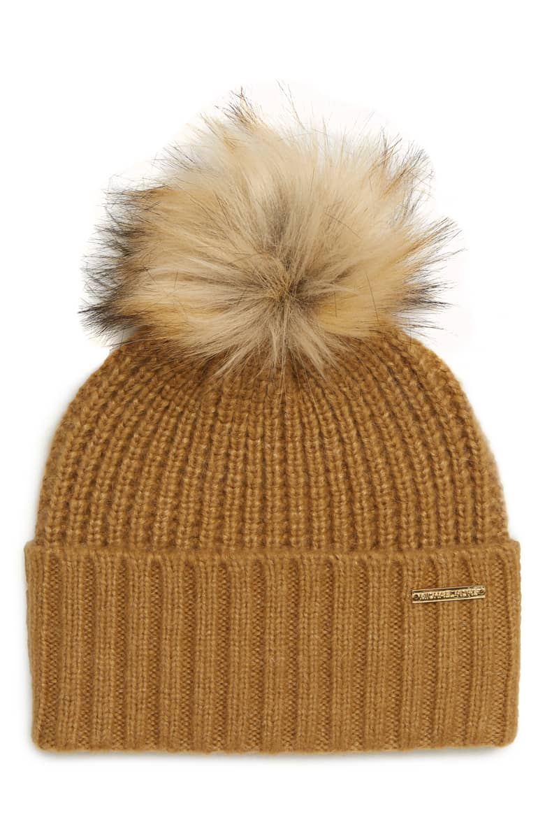 Michael Kors Thermal Stitch Hat, $58.{ }Ballin' on a budget this season? Nordstrom found priceless gifts all under $100. You're welcome! (Image courtesy of Nordstrom).