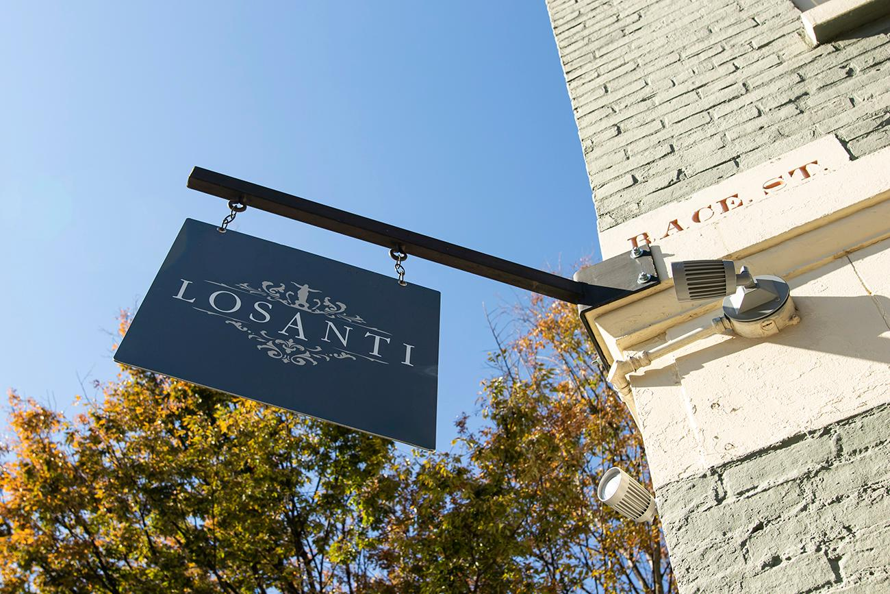 Losanti is an inviting restaurant that offers customers a place to relax and enjoy fine dining with prime filet mignon and a cocktail in a variety of dining rooms. Neighboring Washington Park at the corner of Race and 14th Streets, the boutique steakhouse comes from the owners of Crown Republic Gastropub. The name Losanti is a spin on a bit of Cincinnati history and how the city got its start with the Losantiville settlement in 1788. ADDRESS: 1401 Race Street (45202) / Image: Allison McAdams // Published: 11.14.19