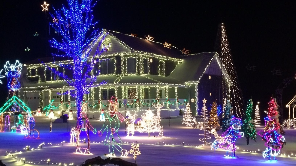 Christmas Light Displays.Your Guide To Local Christmas Light Displays Wsmh