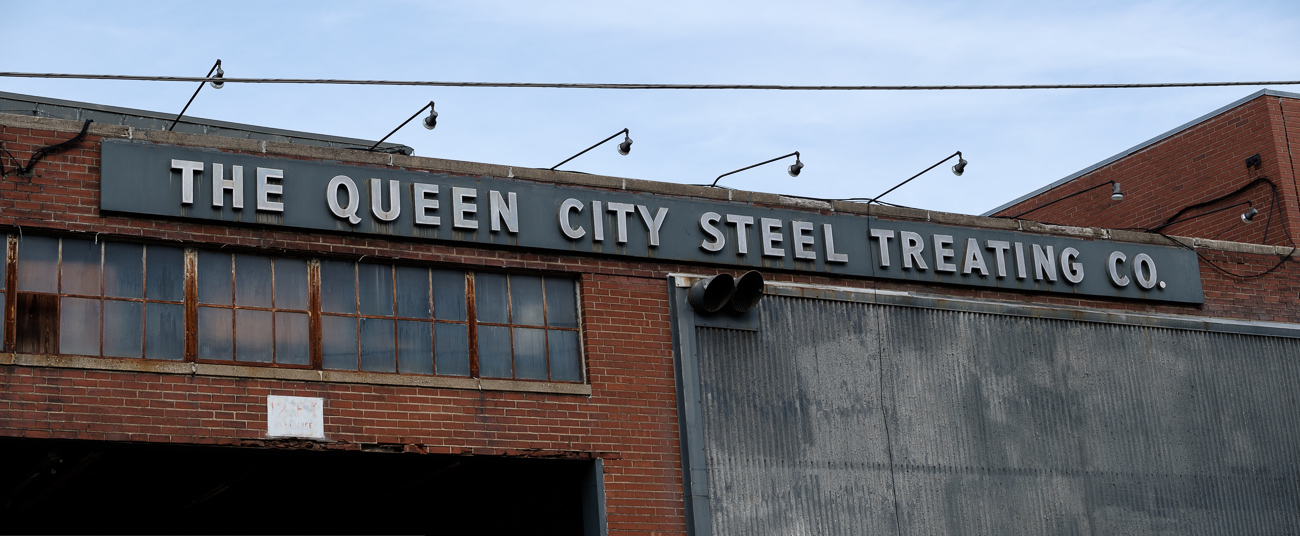 SIGN: Queen City Steel Treating Company / ADDRESS: 2980 Spring Grove Ave, Cincinnati, OH 45225 // Image: Daniel Smyth // Published: 2.18.17
