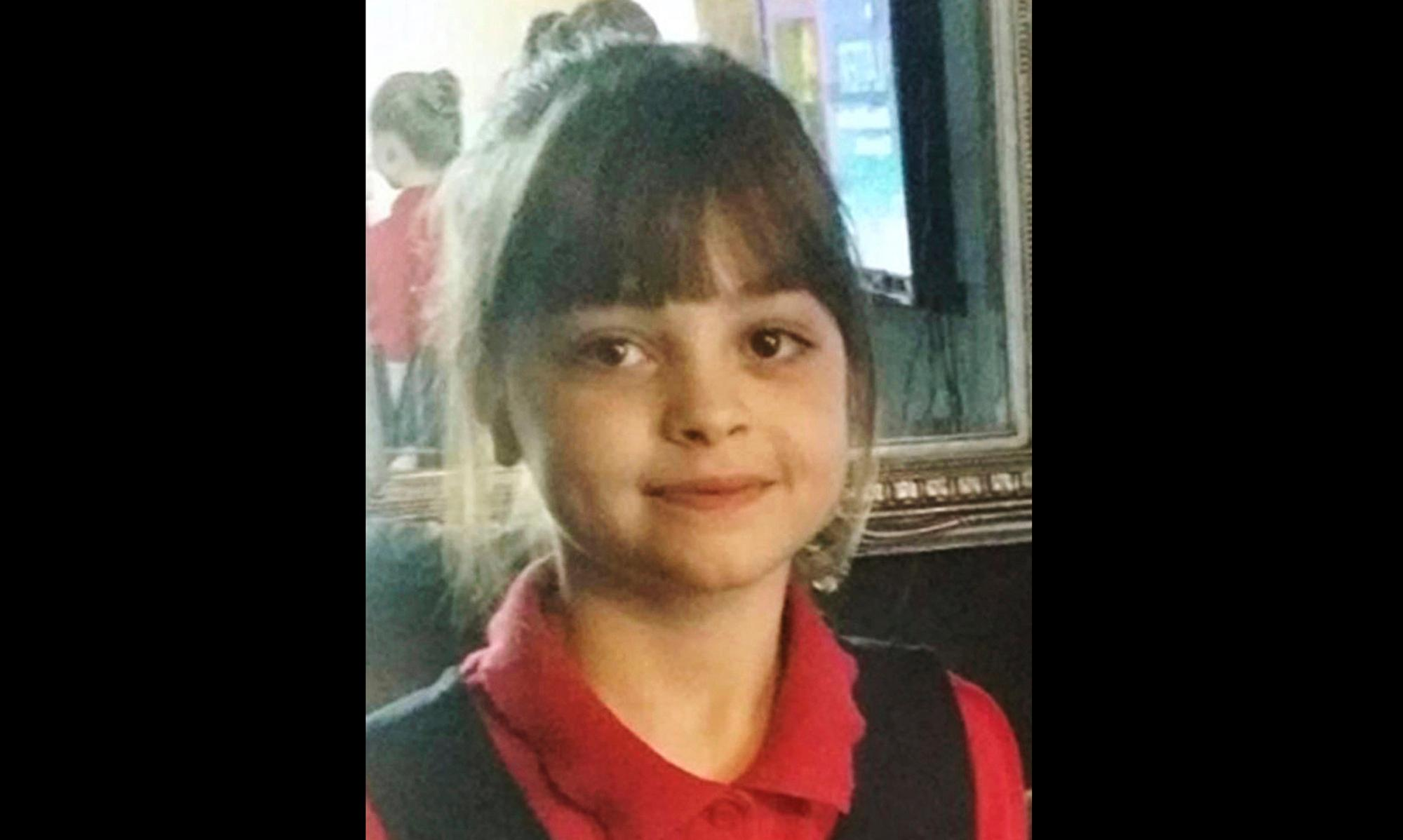 This undated photo obtained by the Press Association on Tuesday, May 23, 2017, of Saffie Roussos, one of the victims of an attack at Manchester Arena, in Manchester, England, which left more than a dozen dead on Monday. (PA via AP)
