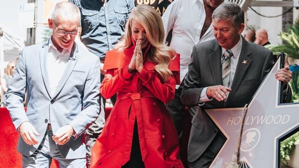 Carrie Underwood Celebrates Star On Hollywood Walk Of Fame Ktul
