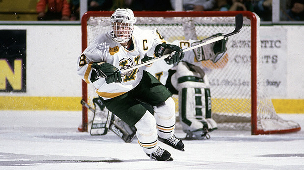 Martin St. Louis helped lead Vermont's charge to its first Frozen Four in 1996. (Courtesy UVM Athletics)