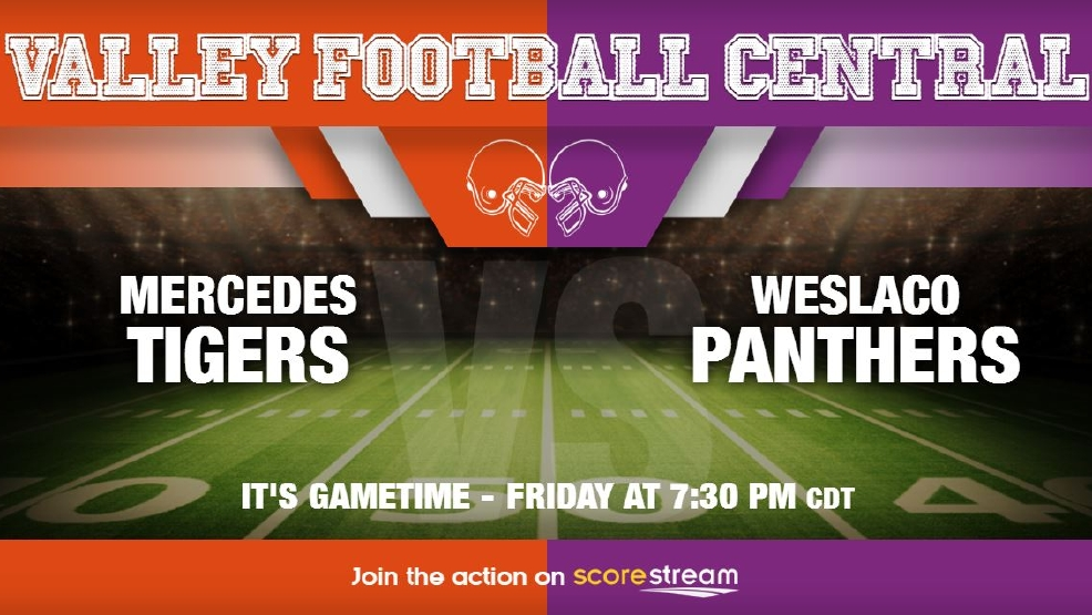 Listen Live: Mercedes Tigers vs. Weslaco Panthers