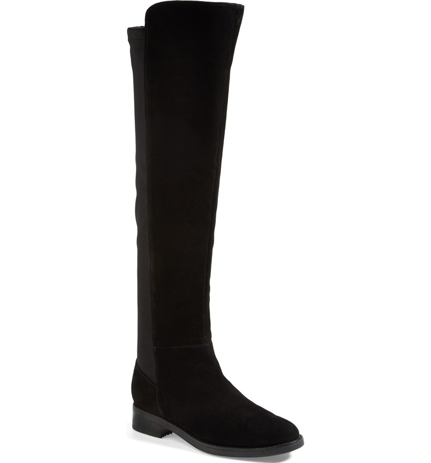 These over the knee boots are right on trend for fall, they're also waterproof so you don't have to shy away from wearing your trendy boots in the rain.   When temperatures drop, it doesn't mean your outfit has  to be all doom and gloom like the weather.  You can still look effortless in the rain! From high-fashion puffers to cozy parkas and knee high (high fashion) waterproof boots, these are the styles to invest in NOW.  (Image: Nordstrom)