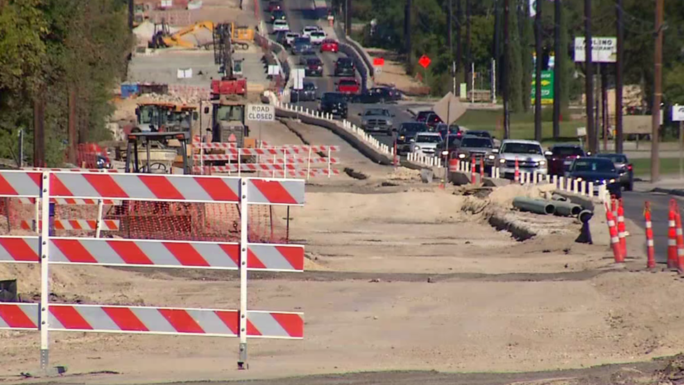 West Bexar County road construction project causing big