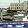 Body washes ashore near Goat Island, police say no foul play