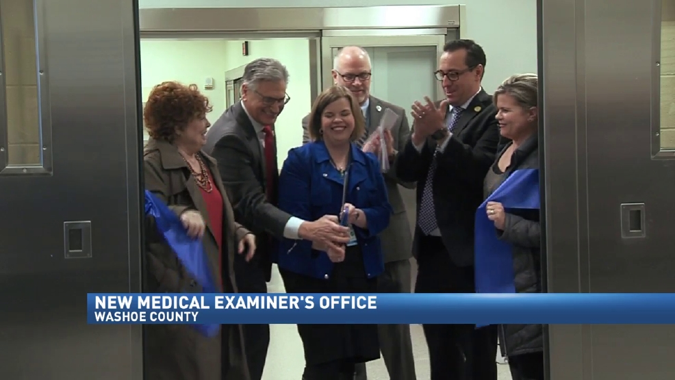 Ribbon cutting unveils new Medical Examiner's Office for ...