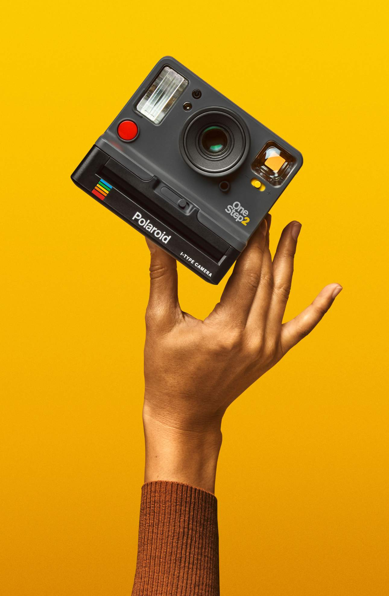 <p>Impossible Project Polaroid OneStep 2 Analog Instant Camera - $99.99. This is such a fun gift for the budding artist in your life or basically any teenage girl who wants to take a new kind of selfie. It's classic design meets contemporary style in this updated version of Polaroid's original OneStep instant camera. The price: $99.99. Purchase at Nordstrom or Amazon. (Image: Nordstrom){&nbsp;}<br></p><p></p>