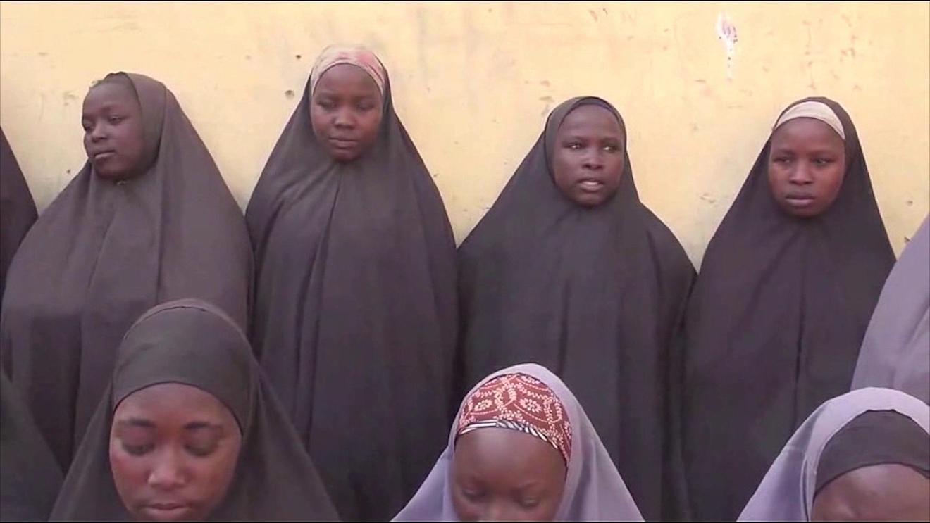 FILE - Nearly two dozen girls were released to the Nigerian government, ending more than two years of captivity with Boko Haram. (CNN Newsource)