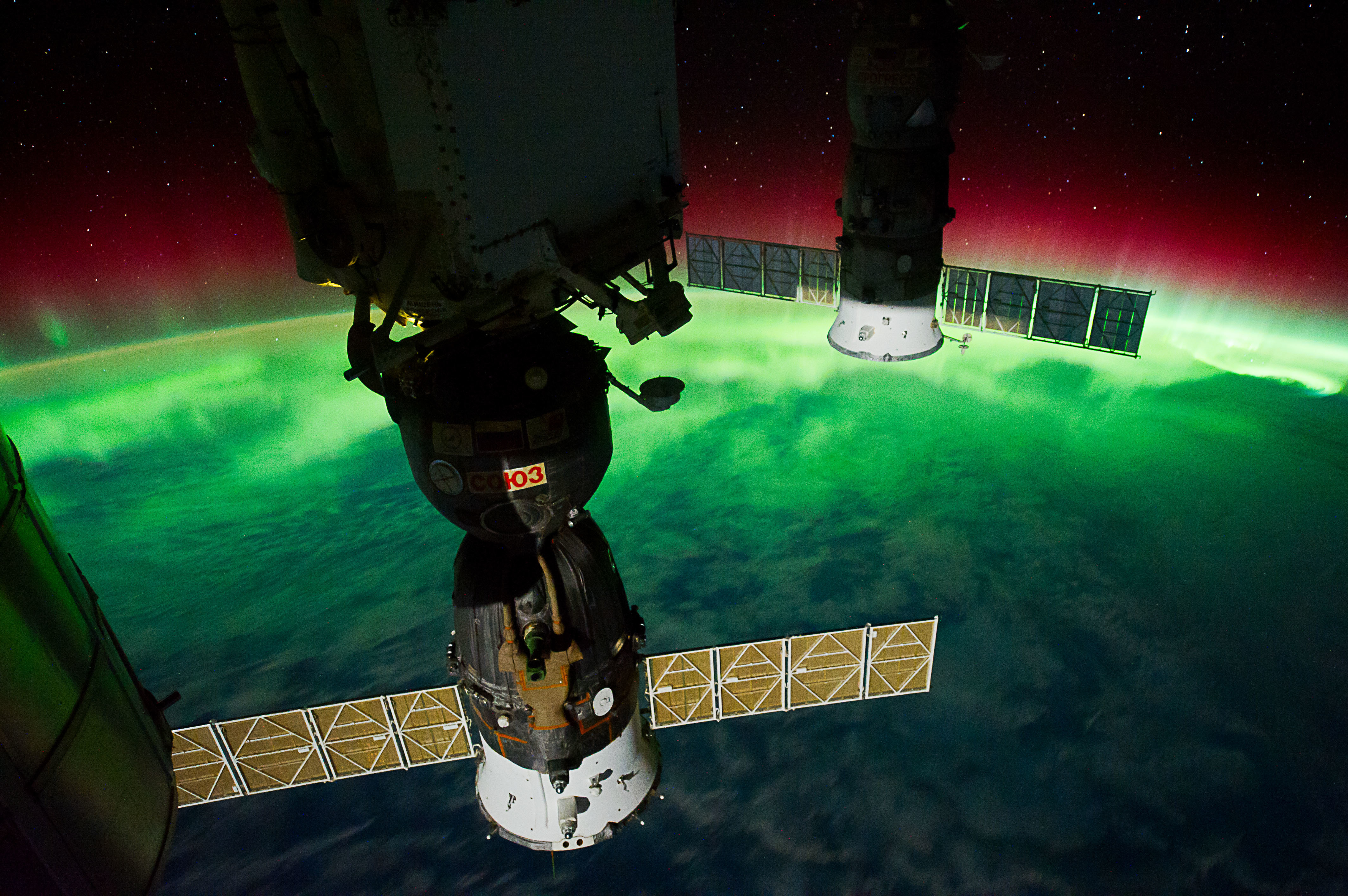 PICTURE SHOWS: (17 Sept. 2011) --- This is one of a series of night time images photographed by one of the Expedition 29 crew members from the International Space Station. It features Aurora Australis, seen from a point over the southeast Tasman Sea near southern New Zealand. The station was located at 46.65 degrees south latitude and 169.10 degrees east longitude.  ...   Prepare to have your mind blown - NASA has collected together a treasure trove of more than 140,000 images, videos and audio files.  The stunning collection consolidates imagery spread across more than 60 collections into one searchable location, called the NASA Image and Video Library website.  Cover Images have chosen a gallery of the most popular images currently on the website, which include the first American astronaut to walk in space and a self-portrait of NASA's Curiosity Mars rover.  The portal allows users to search and discover content from across the agency's many missions in aeronautics, astrophysics, Earth science, human spaceflight, and more.  The library is not comprehensive, but rather provides the best of what NASA makes available from a single point of presence on the web. Additionally, it is a living website, where new and archival images, video and audio files continually will be added.  When: 17 Sep 2011