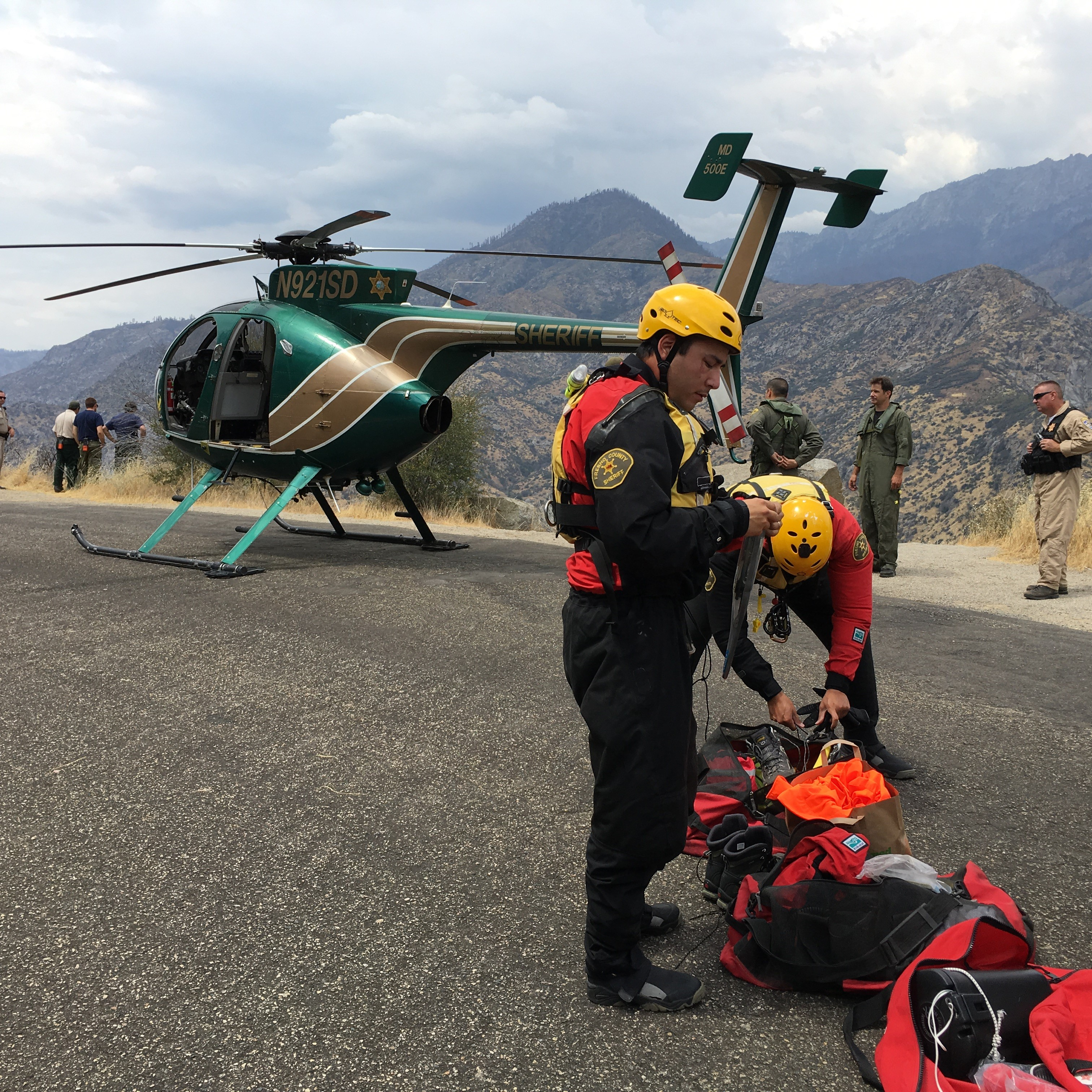 Fresno County Sheriff's Office Search and Rescue (Courtesy of FCSO)