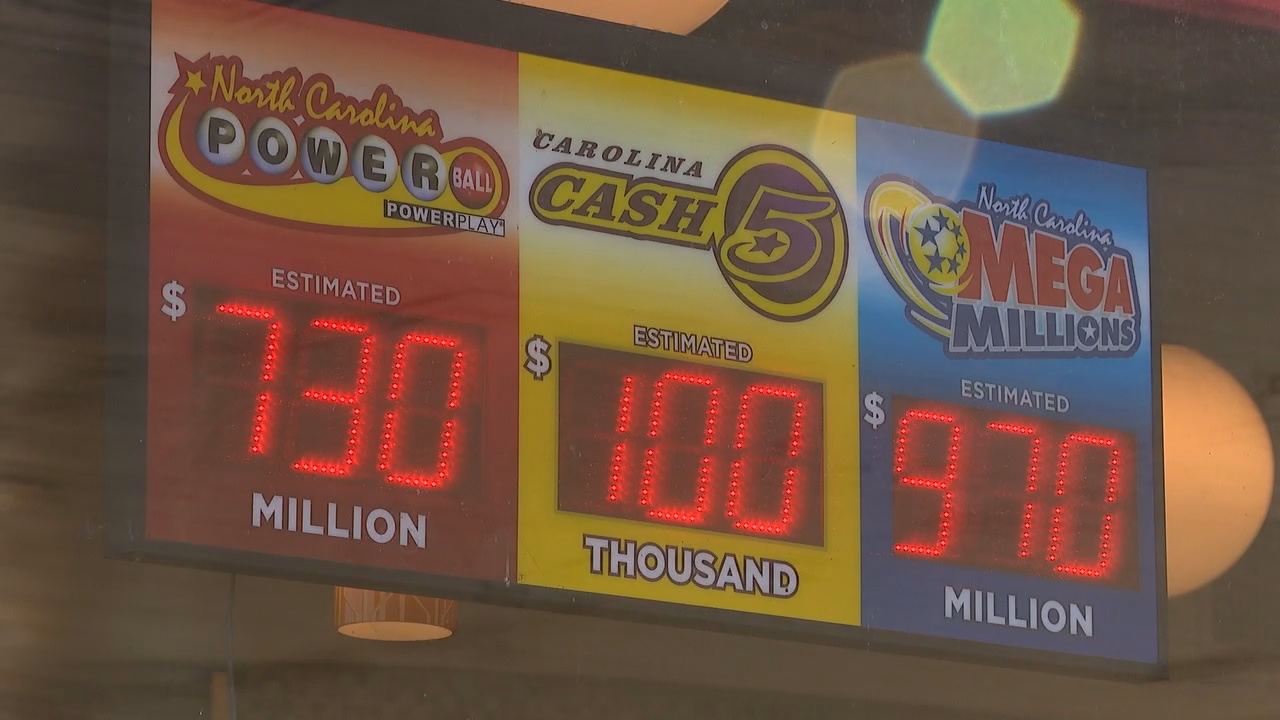 The Mega Millions jackpot is estimated at $970 million and the Powerball jackpot is estimated to be about $730 million. (Photo credit: WLOS staff)