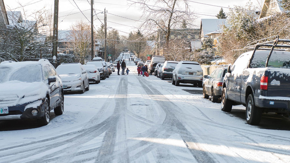 Portland area could receive 2 to 6 inches of snow Sunday night and Monday morning
