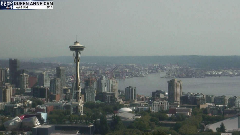 Seattle sizzles to 10th 90-degree day this year; ties other all-time heat record